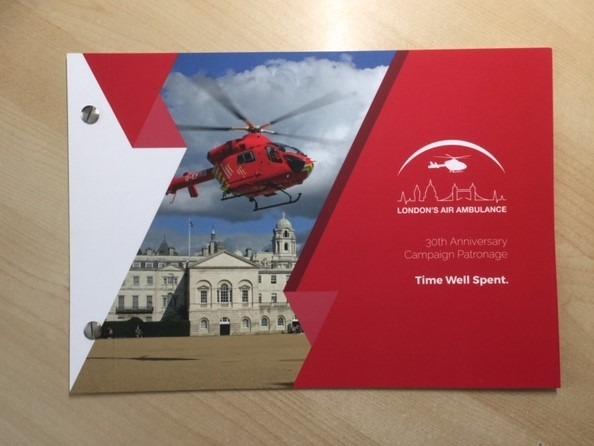 London's Air Ambulance 30th Anniversary Campaign