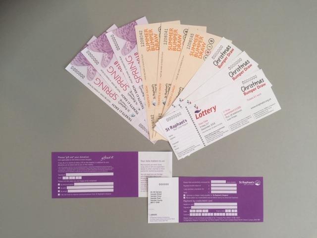 St Raphael's Hospice Raffle Tickets