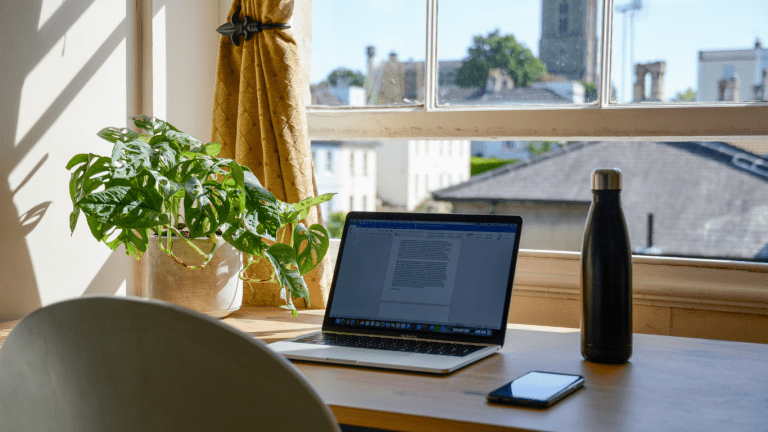 Working from home - home office